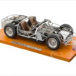 1956 Maserati 300S Rolling Chassis 1/18 Diecast Model by CMC