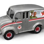 1950 Divco Delivery Truck Texaco (2014) Brushed Metal Special Edition Series #31 1/25 Diecast Model Car by Autoworld