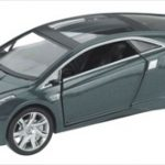 2012 Cadillac Converj Concept Coupe  Grey 1/43 Diecast Model Car by Luxury Diecast