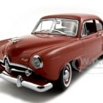 1951 Kaiser Henry J Indian Ceramic Platinum Edition NO TRUNK 1/18 Diecast Car Model by Sunstar