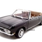 1969 Chevrolet Corvair Black 1/18 Diecast Model Car by Road Signature