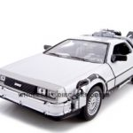 Delorean From Movie Back To The Future 2 1/24 Diecast Car by Welly
