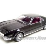 1966 Oldsmobile Toronado Black 1/18 Diecast Car Model by Road Signature