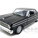 1964 Ford Falcon Diecast Car Model 1/18 Black Die Cast Car by Road Signature