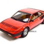 Ferrari Mondial 8 Red Elite 1/18 Diecast Model Car by Hotwheels