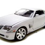 Chrysler Crossfire Silver 1/18 Diecast Model Car by Maisto