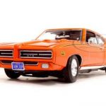 1969 Pontiac GTO Judge Orange 1/18 Diecast Model Car by Motormax