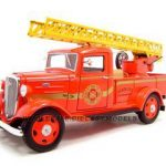 1935 Chevrolet Fire Truck Diecast Model 1/24 Diecast Truck by Unique Replica