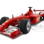 2001 Ferrari F1 Michael Schumacher Elite Edition Hungary GP 1 of 5555 Made 1/18 Diecast Car Model by Hotwheels