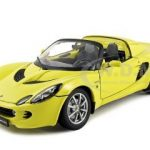 2003 Lotus Elise 111S Yellow 1/18 Diecast Car Model by Welly