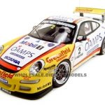 Porsche 997 GT3 Australia Carrera Cup #2 2006 Jim Richard 1/18 Diecast Model Car by Autoart