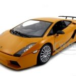 Lamborghini Gallardo Superleggera Orange 1/18 Diecast Model Car by Motormax