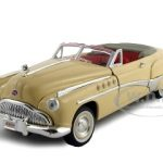 1949 Buick Roadmaster Ivory 1/32 Diecast Model Car by Signature Models