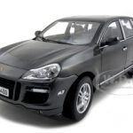 Porsche Cayenne Turbo Grey 1/18 Diecast Model Car by Norev