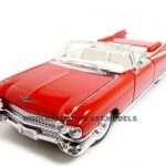 1959 Cadillac Eldorado Biarritz Red 1/18 Diecast Model Car by Maisto