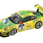 Porsche 911 GT3 RSR #1 Winner 24th Race Nurburgring 2009 T.Bernhard / M.Lieb / R.Dumas / M.Tiemann 1/18 by Spark