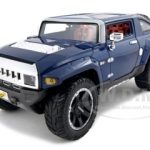 Hummer HX Concept Blue 1/18 Diecast Model Car by Maisto