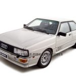 1988 Audi Quattro LWB Diecast Model 1/18 Silver Die Cast Car by Autoart