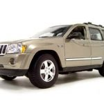 2005 Jeep Grand Cherokee Khaki  1/18 Diecast Model Car By Maisto