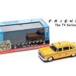 Friends (TV Series) Phoebe Buffays 1977 Checker Taxi Cab 1/43 Diecast Car Model by Greenlight