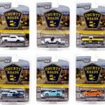 Country Roads / Release 10 6pc Set 1/64 Diecast Model Cars by Greenlight