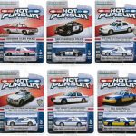 Hot Pursuit / Release 12 6pc Set 1/64 Diecast Model Cars by Greenlight