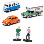 Campsite Cruizers 3 Cars Set 1/64 Diecast Model Cars by Greenlight