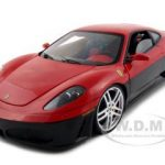 Ferrari F430  Elite Edition Red/Black 1/18 Diecast Model Car by Hotwheels