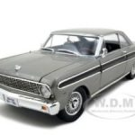 1964 Ford Falcon Diecast Car Model 1/18 Grey Die Cast Car by Road Signature