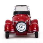 1958 Messerschmitt Tiger TG500 Convertible Red 1/43 Diecast Model Car by Vitesse