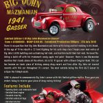 1941 Big John Mazmanian Gasser Limited Edition to 2500pcs 1/18 Diecast Model Car by Acme