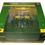 John Deere 1984 7200 8 Row Maxemerge Planter with Fertilizer Tanks 1/64 Diecast Model by Speccast