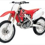 2012 Honda CRF450R Red Motorcycle Model 1/12 Diecast Model by New Ray