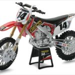 Honda Geico Team #14 2012 Kevin Windham Dirt Bike Motorcycle 1/12 by New Ray