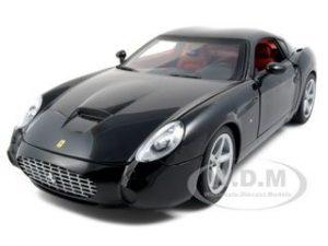 1 18 Hot Wheels Ferrari Laferrari 2013 Flatblack