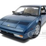 Ferrari Mondial 3.2 Elite Edition Blue 1 of 5000 Produced 1/18 Diecast Car Model by Hotwheels