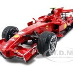 Elite Ferrari F2008 Spain GP Felipe Massa #2 1/18 Diecast Car Model by Hotwheels