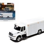 2012 International Durastar 4400 Beverage Truck White In Blister Pack 1/64 Diecast Model by Greenlight