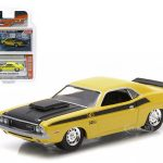 1970 Dodge Challenger T/A Lemon Twist 1/64 Diecast Model Car by Greenlight