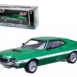 Fenixs 1972 Ford Gran Torino Green The Fast and The Furious Movie (2009) 1/43 Diecast Car Model by Greenlight