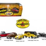 Motor World Pennzoil Service Station 5 Car Set 1/64 Diecast Model Cars by Greenlight
