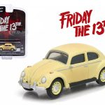 1963 Volkswagen Beetle Friday The 13th Part III (1982) Movie Hollywood Series 9 1/64 Diecast Model Car by Greenlight
