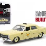 1967 Ford Custom Sunshine Cabs Taxi Steve McQueen Bullitt (1968) Hollywood Series 9 1/64 Diecast Model Car by Greenlight