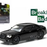 2012 Chrysler 300C Black Breaking Bad 2008-2013 TV Series Episode 5.04 Hollywood Series 9 1/64 Diecast Model Car by Greenlight