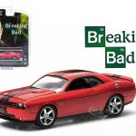 2012 Dodge Challenger SRT-8 Red Breaking Bad 2008-2013 TV Series Episode 5.04 Hollywood Series 9 1/64 Diecast Model Car by Greenlight