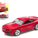 2012 Chevrolet Camaro SS Red Honor & Valor 1/64 Diecast Car Model by Greenlight