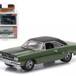 1970 Plymouth GTX Lime Green 1/64 Diecast Model Car by Greenlight