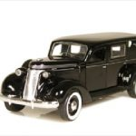 1937 Studebaker Hearse 1/43 Diecast Car Model by Phoenix Mint