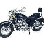Honda Valkyrie Black 1/6 Motorcycle Model by Motormax
