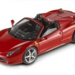 Ferrari 458 Italia Spider Red Elite Edition 1/43 Diecast Car Model by Hotwheels